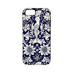 Deep Blue Apple Iphone 5 Classic Hardshell Case (pc+silicone) by Brittlevirginclothing