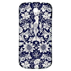 Deep Blue Samsung Galaxy S3 S Iii Classic Hardshell Back Case by Brittlevirginclothing