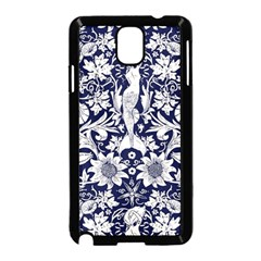Deep Blue Samsung Galaxy Note 3 Neo Hardshell Case (black) by Brittlevirginclothing