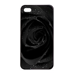Black Rose Apple Iphone 4/4s Seamless Case (black) by Brittlevirginclothing