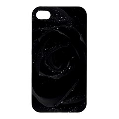 Black Rose Apple Iphone 4/4s Hardshell Case by Brittlevirginclothing