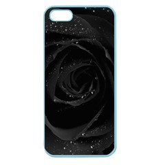 Black Rose Apple Seamless Iphone 5 Case (color)