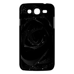 Black Rose Samsung Galaxy Mega 5 8 I9152 Hardshell Case  by Brittlevirginclothing