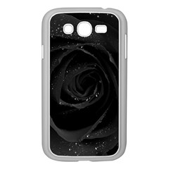 Black Rose Samsung Galaxy Grand Duos I9082 Case (white)