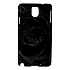 Black Rose Samsung Galaxy Note 3 N9005 Hardshell Case by Brittlevirginclothing
