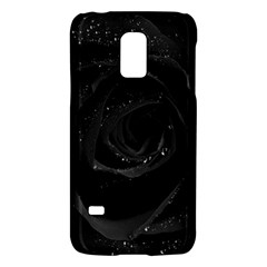 Black Rose Galaxy S5 Mini by Brittlevirginclothing