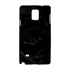 Black Rose Samsung Galaxy Note 4 Hardshell Case by Brittlevirginclothing