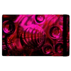 Abstract Bubble Background Apple Ipad 3/4 Flip Case