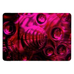 Abstract Bubble Background Samsung Galaxy Tab 8 9  P7300 Flip Case