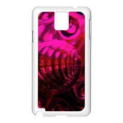 Abstract Bubble Background Samsung Galaxy Note 3 N9005 Case (white) by Amaryn4rt