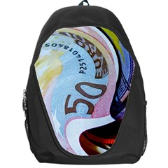 Abstract Currency Background Backpack Bag by Amaryn4rt