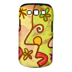 Abstract Faces Abstract Spiral Samsung Galaxy S Iii Classic Hardshell Case (pc+silicone) by Amaryn4rt