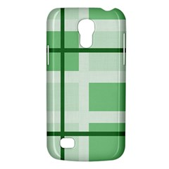 Abstract Green Squares Background Galaxy S4 Mini by Amaryn4rt