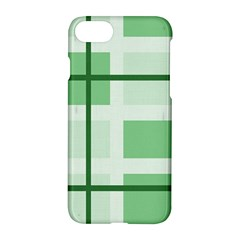 Abstract Green Squares Background Apple Iphone 7 Hardshell Case by Amaryn4rt