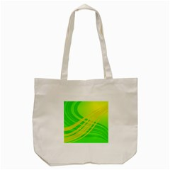 Abstract Green Yellow Background Tote Bag (cream)