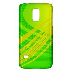 Abstract Green Yellow Background Galaxy S5 Mini