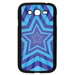 Abstract Starburst Blue Star Samsung Galaxy Grand Duos I9082 Case (black) by Amaryn4rt