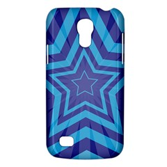 Abstract Starburst Blue Star Galaxy S4 Mini by Amaryn4rt