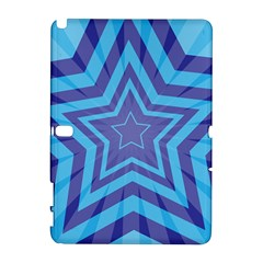Abstract Starburst Blue Star Galaxy Note 1 by Amaryn4rt