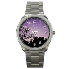 Arches National Park Night Sport Metal Watch by Amaryn4rt