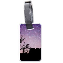 Arches National Park Night Luggage Tags (one Side)