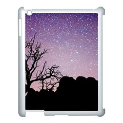 Arches National Park Night Apple Ipad 3/4 Case (white) by Amaryn4rt