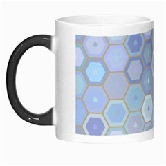 Bee Hive Background Morph Mugs by Amaryn4rt