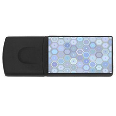 Bee Hive Background Usb Flash Drive Rectangular (4 Gb) by Amaryn4rt