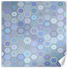 Bee Hive Background Canvas 12  X 12   by Amaryn4rt