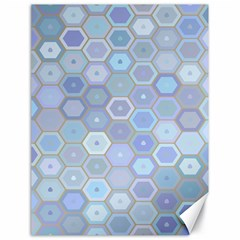 Bee Hive Background Canvas 18  X 24   by Amaryn4rt