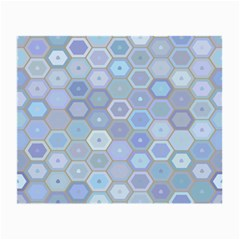 Bee Hive Background Small Glasses Cloth (2 Side) by Amaryn4rt
