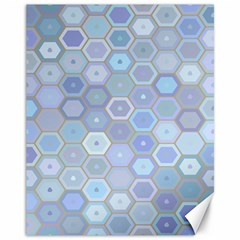 Bee Hive Background Canvas 11  X 14   by Amaryn4rt