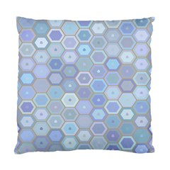 Bee Hive Background Standard Cushion Case (two Sides) by Amaryn4rt
