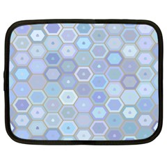 Bee Hive Background Netbook Case (xl)  by Amaryn4rt