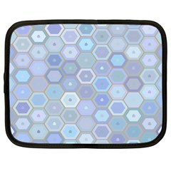 Bee Hive Background Netbook Case (xxl)  by Amaryn4rt