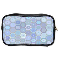 Bee Hive Background Toiletries Bags