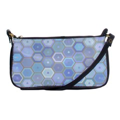Bee Hive Background Shoulder Clutch Bags by Amaryn4rt