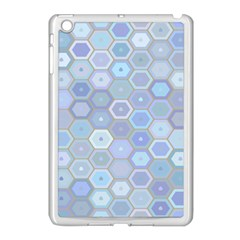 Bee Hive Background Apple Ipad Mini Case (white) by Amaryn4rt