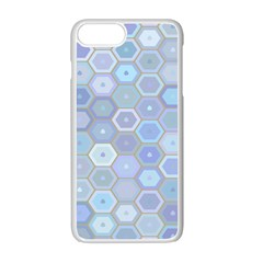 Bee Hive Background Apple Iphone 7 Plus White Seamless Case by Amaryn4rt