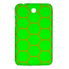 Bee Hive Texture Samsung Galaxy Tab 3 (7 ) P3200 Hardshell Case  by Amaryn4rt