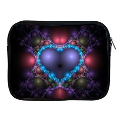 Blue Heart Apple Ipad 2/3/4 Zipper Cases by Amaryn4rt