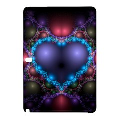 Blue Heart Samsung Galaxy Tab Pro 12 2 Hardshell Case by Amaryn4rt