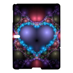 Blue Heart Samsung Galaxy Tab S (10 5 ) Hardshell Case  by Amaryn4rt
