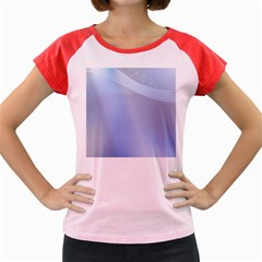 Blue Star Background Women s Cap Sleeve T Shirt by Amaryn4rt