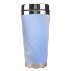 Blue Star Background Stainless Steel Travel Tumblers