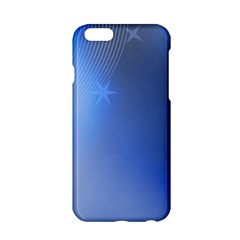 Blue Star Background Apple Iphone 6/6s Hardshell Case by Amaryn4rt