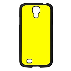 Yellow Color Samsung Galaxy S4 I9500/ I9505 Case (black)