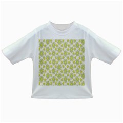 Another Supporting Tulip Flower Floral Yellow Gray Infant/toddler T Shirts