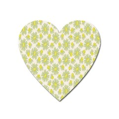 Another Supporting Tulip Flower Floral Yellow Gray Heart Magnet by Jojostore