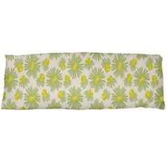 Another Supporting Tulip Flower Floral Yellow Gray Body Pillow Case (dakimakura) by Jojostore
